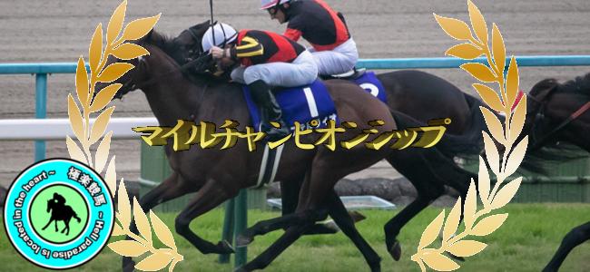 【2019マイルチャンピオンシップ 予想!】